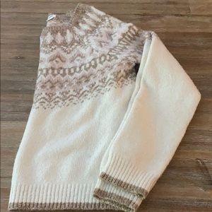 Fair isle soft Sweater